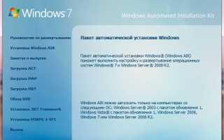 Как создать образ Windows 7 с обновлениями с помощью RT 7 Lite?