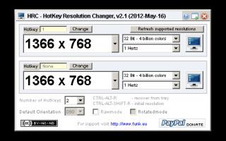 Программы для изменения настройки разрешения экрана скачать