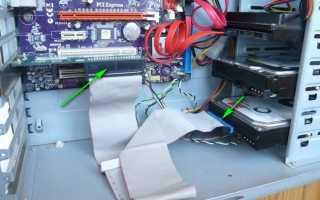 Подключаем старый IDE жесткий диск к новой материнской плате  JMicron JMB363 PCI-E + 1 ESATA + 1 SATA + 1 IDE