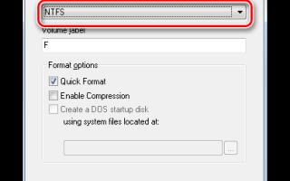 Как изменить файловую систему флешки с FAT32 на NTFS без потери данных