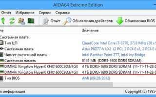 Как получить полную информацию о модулях RAM памяти с помощью простых команд в Windows 10