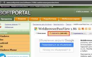 Как посмотреть пароли в браузере. Руководство по поиску и защите сохраненных паролей