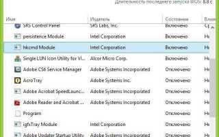 Windows 7: как убрать программы из автозагрузки и на что обратить внимание при отключении служб