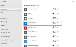 Microsoft Edge и связанные с ним процессы появляются после запуска Windows 10 в диспетчере задач — (Объяснение).