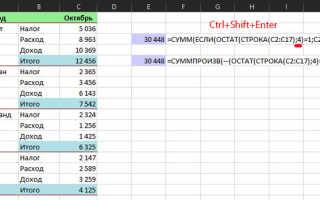 Как посчитать сумму ячеек в экселе несколькими классными способами?