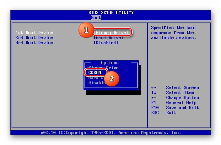 Vyibor-CDROM-pervyim-zagruzochnyim-ustroystvom-v-razdele-Boot-v-BIOS-v-Windows-7.png