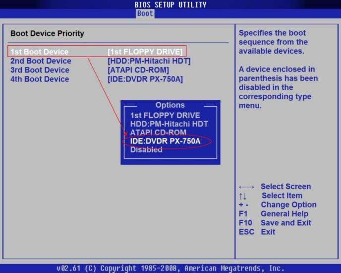 Vydeljaem-stroku-s-nazvaniem-DVD-privoda-peremeshhaem-ee-klavishami-na-stroku-1st-Boot-Device-.jpg