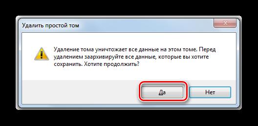 Podtverzhdenie-udaleniya-toma-v-dialogovom-okne-osnastki-Upravoenie-diskami-v-Windows-7.png