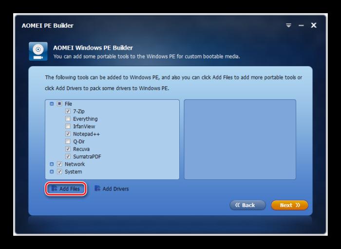 Perehod-k-dobavleniyu-programm-v-sborku-v-okne-programmyi-AOMEI-PE-Builder-v-Windows-7.png