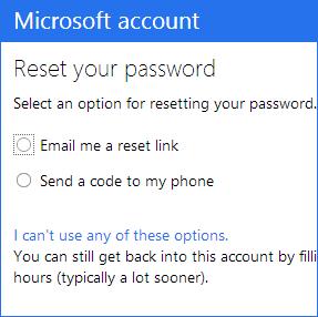 Отправка ссылки для сброса пароля