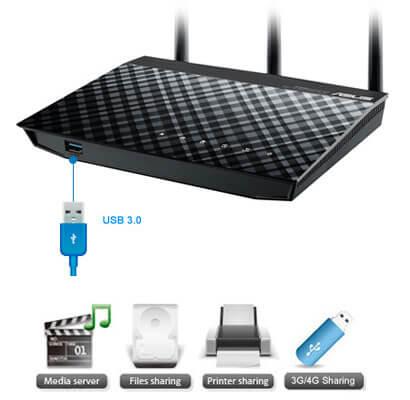 использование 3g модема на роутере ASUS позволяет пользоваться интернетом, без сетевого кабеля