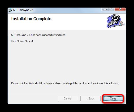 Zavershenie-installyatsii-programmyi-SP-Time-Sync.png